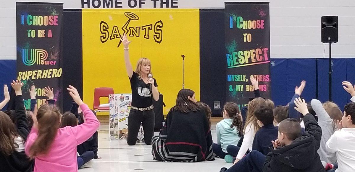 Sara Westbrook at St. Clare