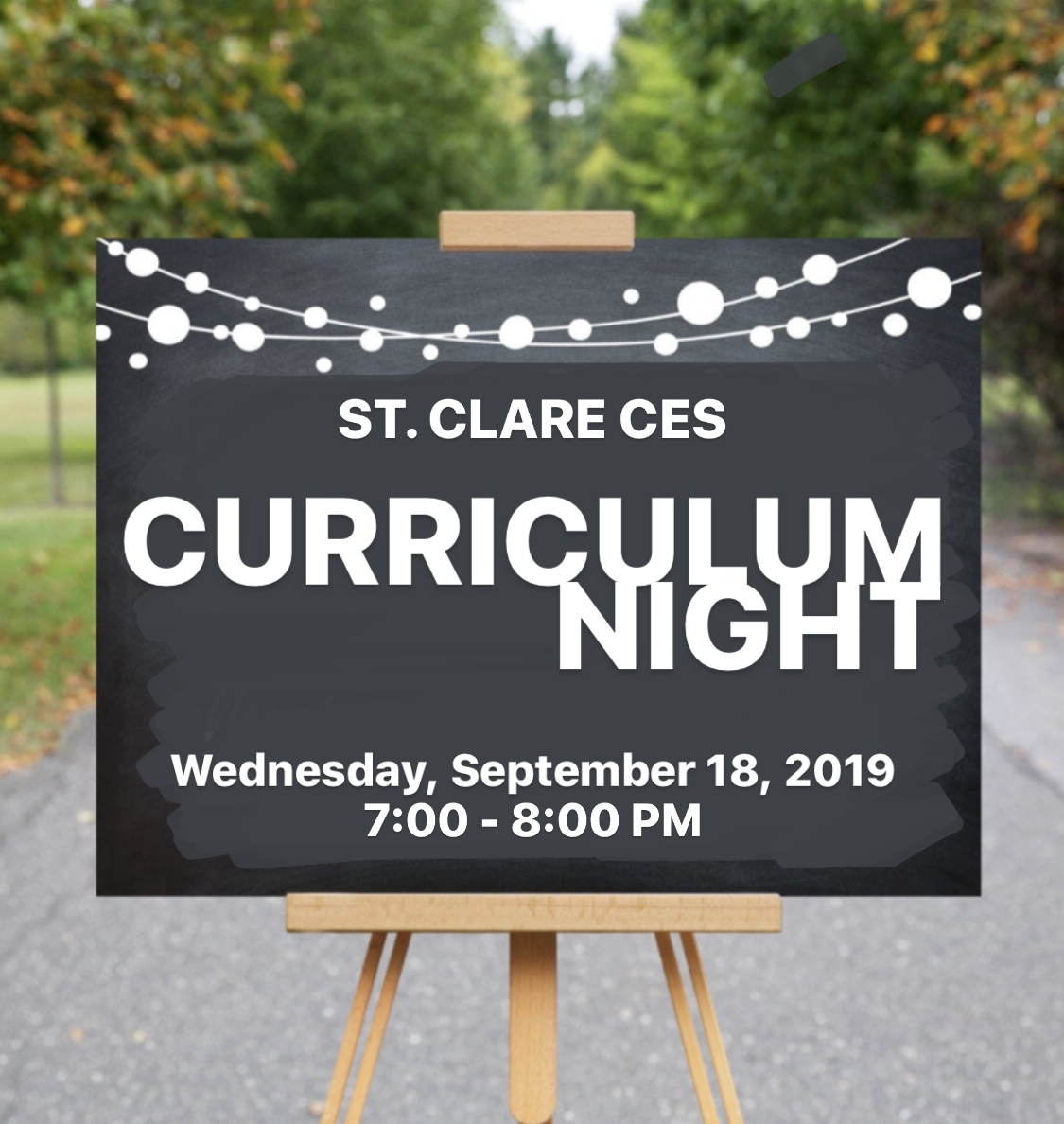 Curriculum Night!