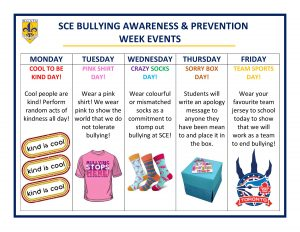 Bullying Awareness & Prevention Week @ SCE!
