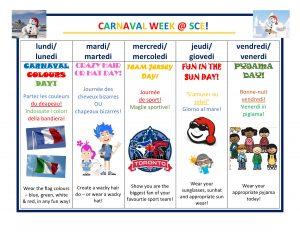 Carnaval D'Hiver @ SCE!