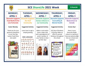 ShareLife Week @ SCE!